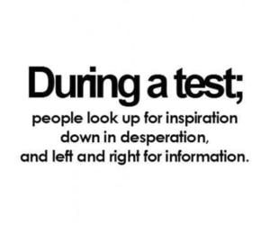 test, funny, and inspiration image