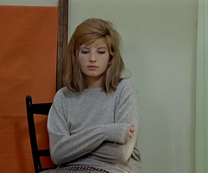 girl and Monica Vitti image
