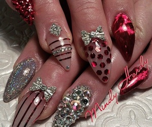 almond, crystals, and holidays image