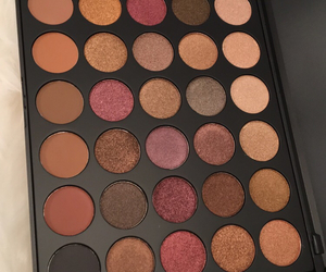 eyes, makeup, and nudes image