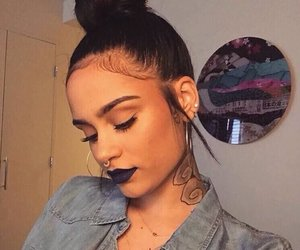 kehlani, tattoo, and makeup image
