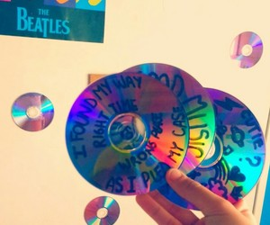 70s, beatles, and cds image