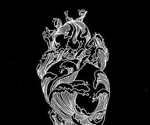 heart and ocean image