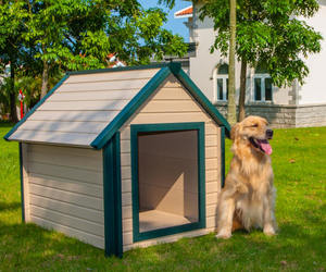 dog house air conditioner, dog house with ac, and dog house ac image