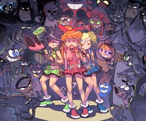 powerpuff girls, cartoon, and cartoon network image