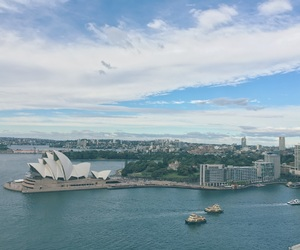 Sydney, travel, and sydenyoperahouse image