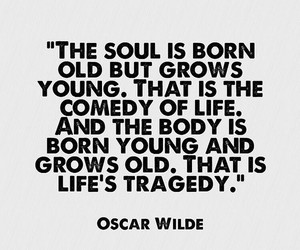 quote, life, and oscar wilde image