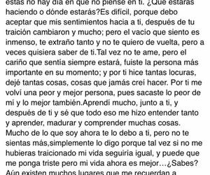 amor, carta, and despedida image
