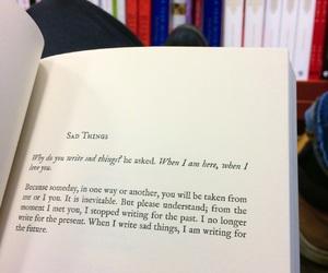 alternative, book, and depress image