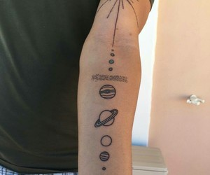 earth, tattoo, and rick and morty image