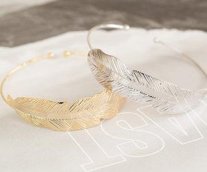 bangle, bracelet, and gold bracelets image