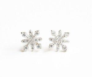 stud earrings, christmas jewelry, and fashion earring image