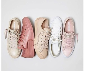 Nude, converse, and shoes image