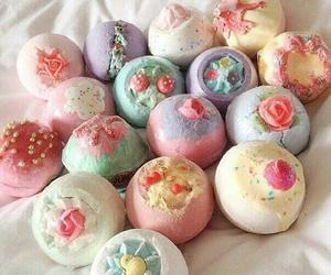 bath bombs and lush image