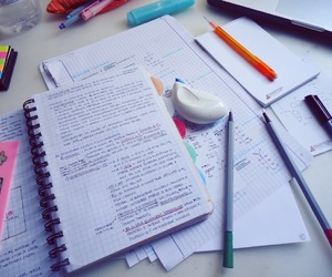 school and studying image