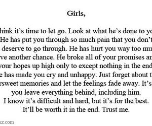 love, girl, and hurt image