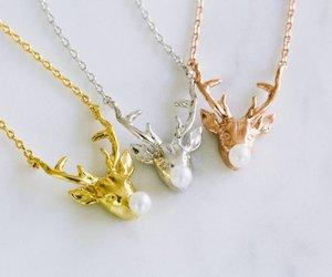 christmas gift, christmas necklace, and christmas jewelry image