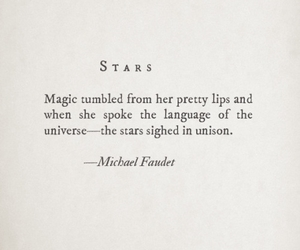 quotes, stars, and poem image