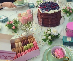 cake, cafe, and food image
