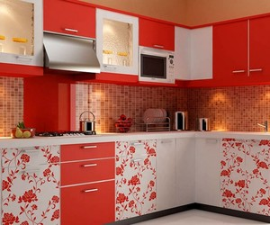 luxury kitchen and modular kitchen image