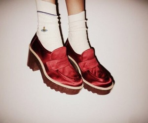 shoes and red image
