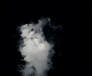 smoke, overlay, and black image