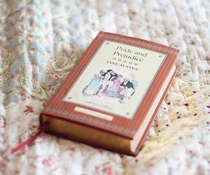 book, pride and prejudice, and vintage image