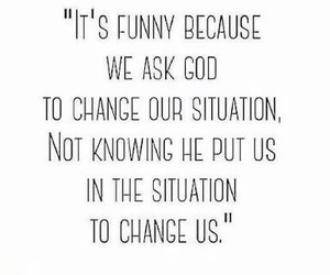 quote, change, and god image