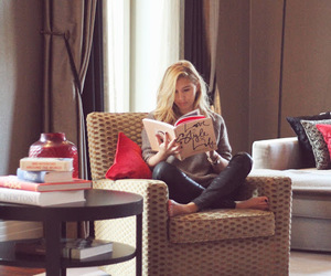 blogger, blonde, and book image