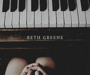 aesthetic, the walking dead, and beth greene image