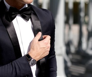 suit, classy, and Hot image