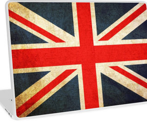 background, british flag, and graphic image