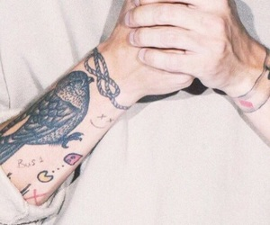 louis tomlinson, one direction, and Tattoos image