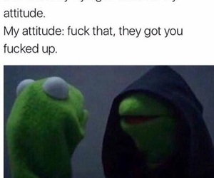 attitude, kermit the frog, and post image