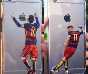 Barcelona, football, and iphone image
