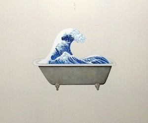 art and wave image