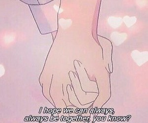 love, anime, and pink image