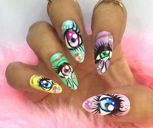 eyes and nails image