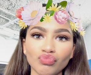 zendaya and snapchat image