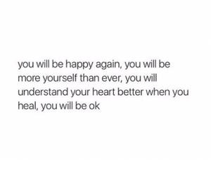 happy, heart, and heartbroke image