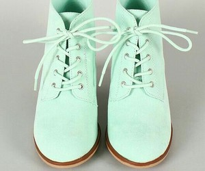shoes, mint, and green image
