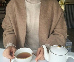 fashion, tea, and style image