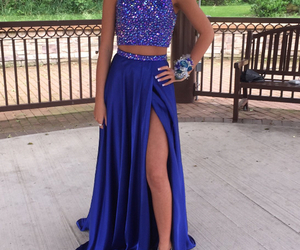 prom dress, prom dresses, and formal dress image