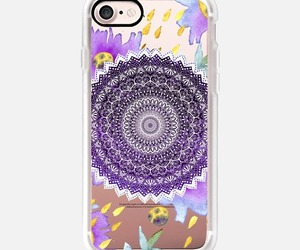 case, purple, and floral image