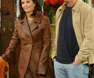 friends, chandler bing, and couple image