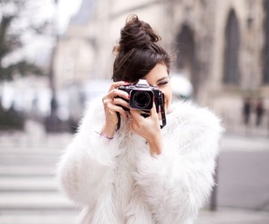 girl, fashion, and camera image