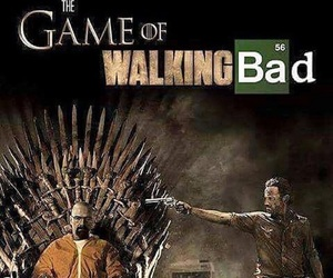 breaking bad, game of thrones, and walking dead image