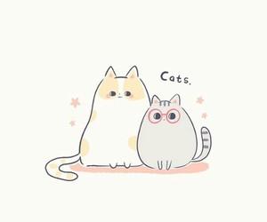 cartoon, cat, and japan image