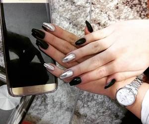 casio, jewerly, and nails image