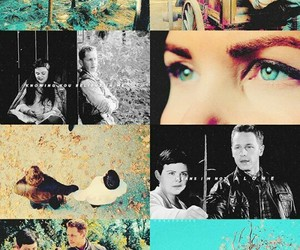 once upon a time, snow white, and snowing image